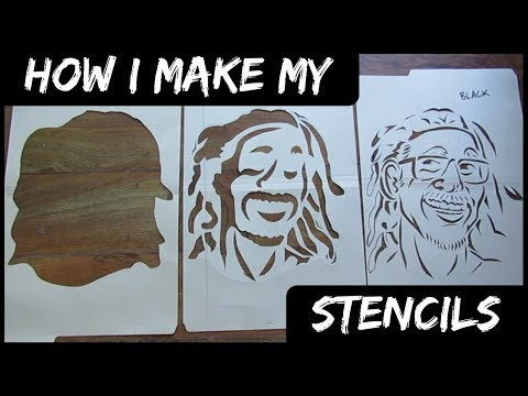 How I Make My Stencils!
