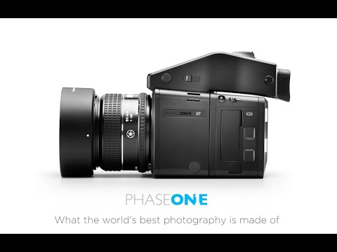 Introducing the XF Camera System | Phase One