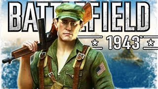 Playing an ACTUAL WW2 Battlefield game... (Battlefield 1943)