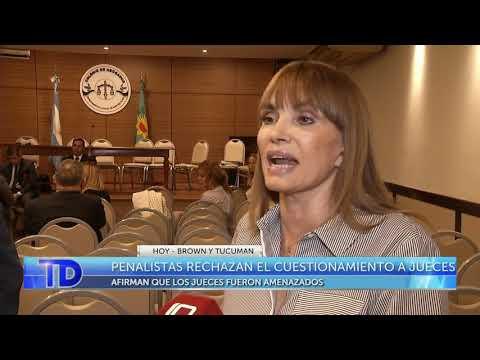Penalistas rechazan el cuestionamiento a jueces
