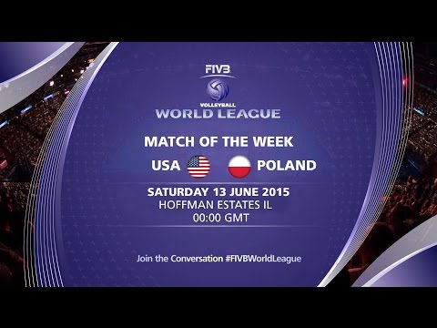 Live Stream - USA vs Poland - FIVB Volleyball World League 2015 from YouTube · Duration:  2 hours 33 minutes 1 seconds