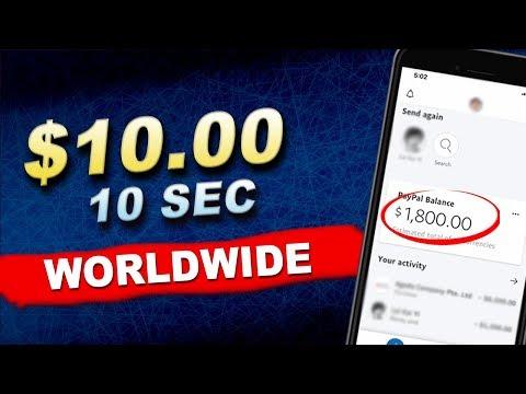 Earn $10 Dollars In 10 Seconds [Make Money Online Worldwide]
