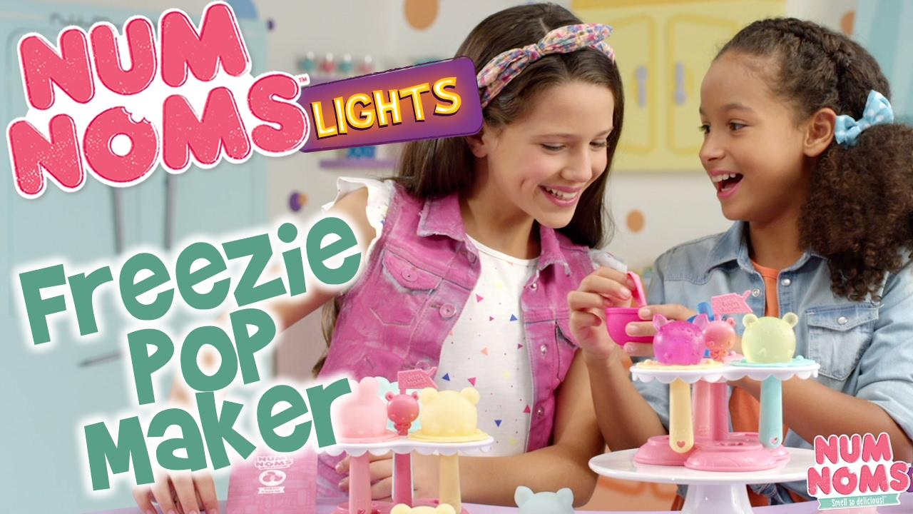 Num Noms Lights Freezie Pop Maker 30 Commercial Youtube