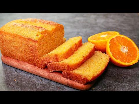 Orange Pound Cake   Tea Time Orange Cake Eggless & Without Oven   Yummy