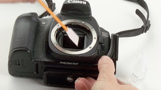 краткие сведения о чистке матриц фотоаппаратов в домашних условиях