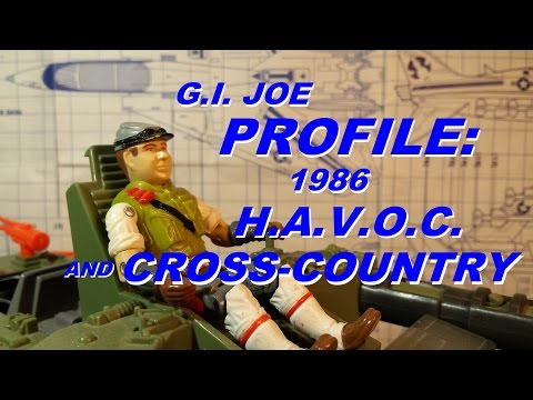 HCC788 Profile: 1986 H.A.V.O.C. and CROSS-COUNTRY - Vintage G.I. Joe toy! HD