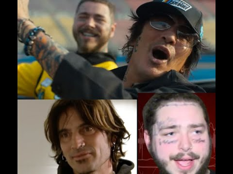 """Post Malone releases new song/video """"Motley Crew"""" feat. Motley Crue's Tommy Lee"""