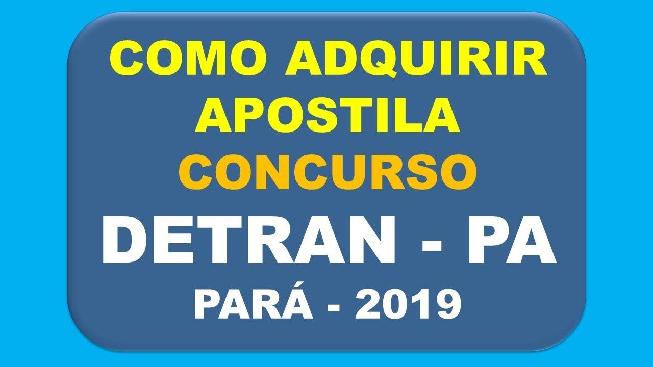 APOSTILA DE AGENTE BAIXAR TRANSITO DETRAN