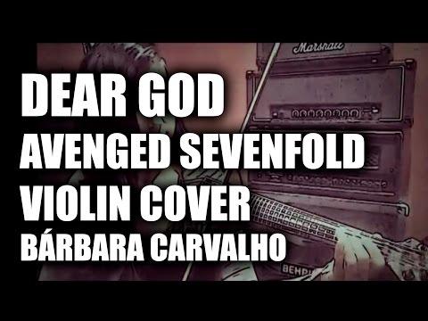 DEAR GOD- Avenged Sevenfold Electric Violin Cover - Bárbara Carvalho