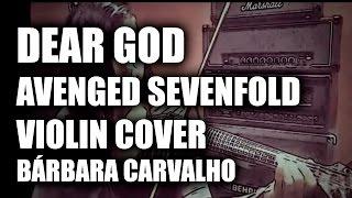"""DEAR GOD"" - Avenged Sevenfold Electric Violin Cover"