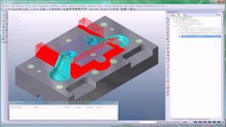 VISI Machining - Produktvideo ''3-Achsen Bearbeitung - Schlichten''