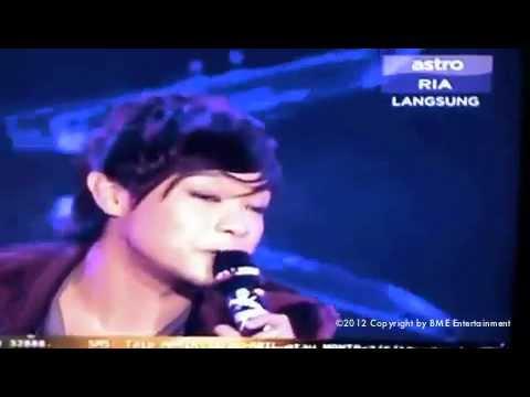 Aril Sing Kembali Senyum at Astro Mania Minggu 6