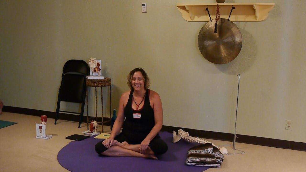youtube chair yoga table and chairs garden mat or for severe osteoporosis with justine shelton c iayt viniyoga therapist