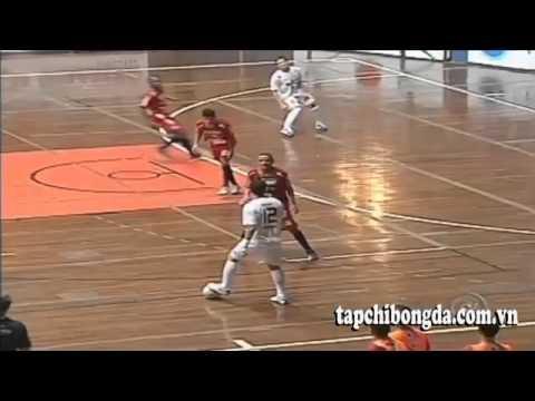 Bóng đá: Pha biểu diễn kỹ thuật của vua Futsal Ridiculous Falcao