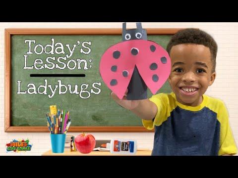 ladybug-diy-crafts-|-recycled-tissue-roll-craft-idea-|-ladybug-life-cycle-for-kids