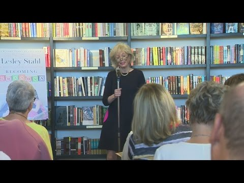 "60 Minutes Correspondent Lesley Stahl On New Book ""Becoming Grandma"""