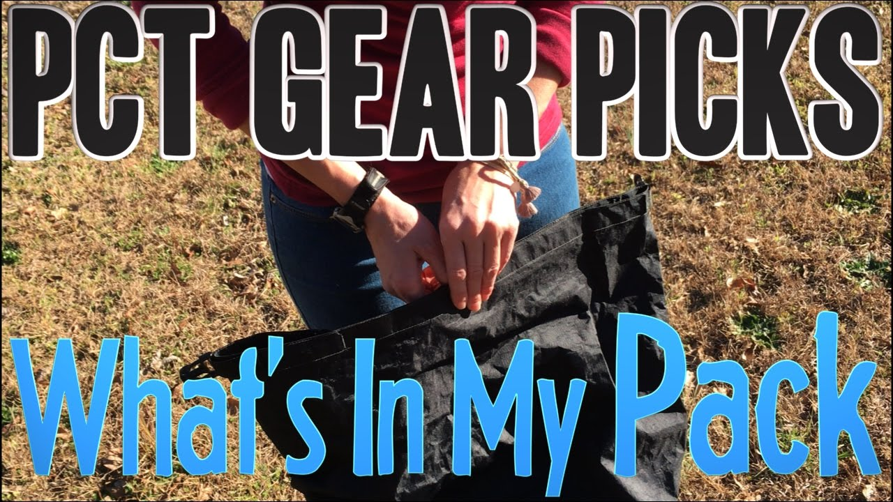 PCT 2017 Gear Picks: What's In My Pack (Desert Base-Weight)