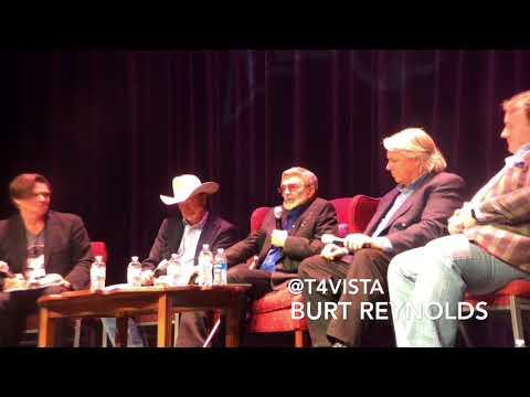 Q&A with Burt Reynolds after Dog Years movie screening @romefilm Rome Film Festival in Georgia 🇺🇸