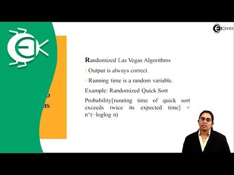 What is Randomized Algorithm in Analysis of Algorithm | Ekeeda.com