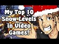 Top 10 Snow Levels in Video Games! - Caddicarus