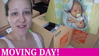MOVING WITH A NEWBORN! | Mommy Etc