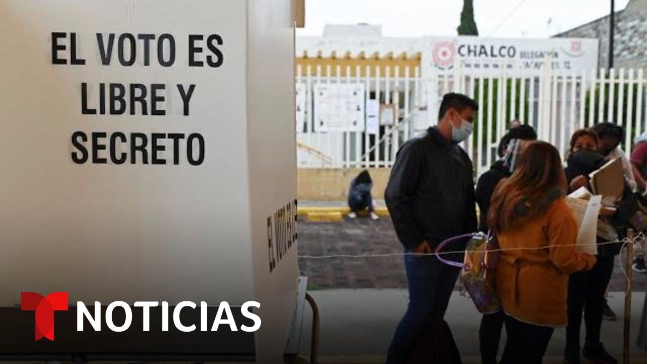 Download Votantes en México acuden a las urnas en unas cruciales elecciones intermedias   Noticias Telemundo