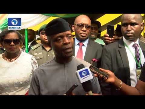 NNPC Controversy: Osinbajo Says He Signed Loans Not Contract