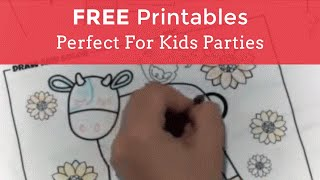 Shindigz FREE Printables