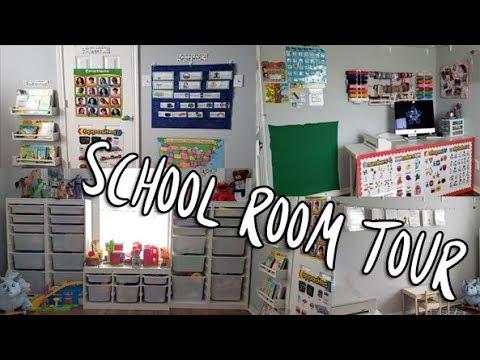 School Room Tour 2018 | Homeschool Preschool