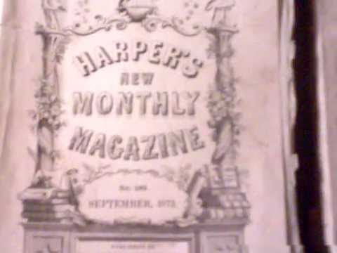 Harpers monthly magazine.ASF