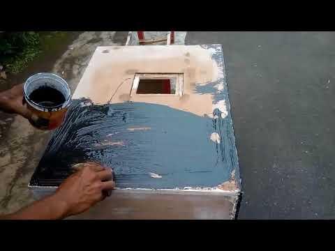 cara finishing box speaker dengan resin.