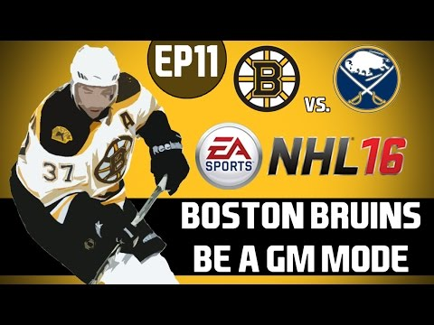 NHL 16: Boston Bruins Be A GM Mode - Consistent Production [Y2G15 EP11