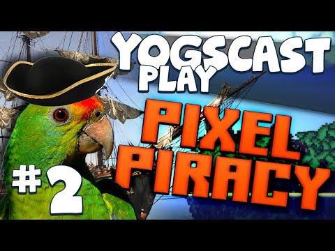 Pixel Piracy #2 - Parrots of the Caribbean