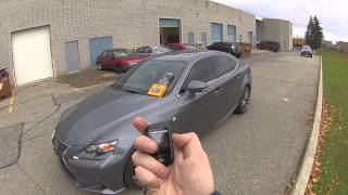 remote start your 2014 lexus is250 with a compustar rf2wt10ss