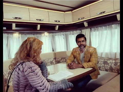 Suriya interview to Georgian media| Singam3