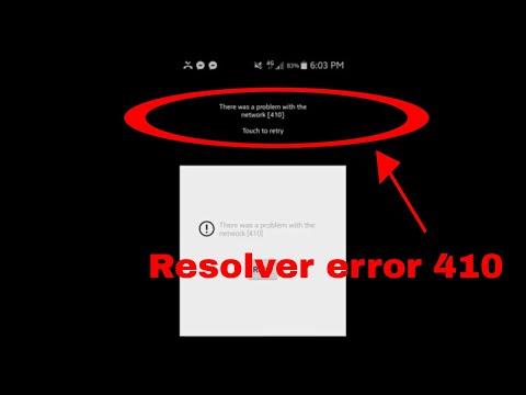 Como resolver error 410 de youtube en android