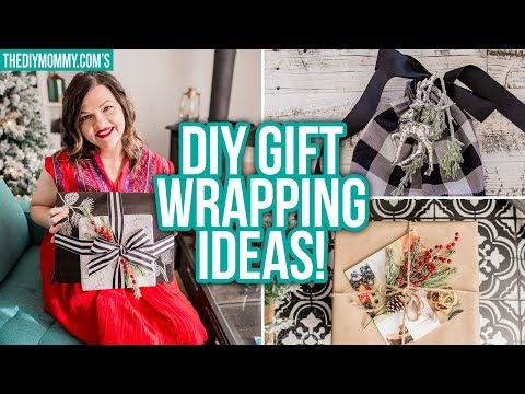 Gorgeous DIY Gift Wrapping Ideas & Gift Guide for the Hostess