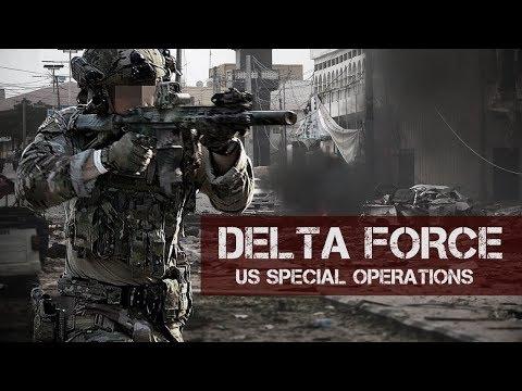 "US DELTA FORCE ""No Man Left Behind"""