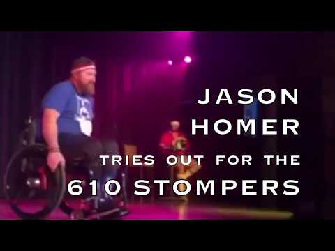 Dancer in wheelchair tries out for 610 Stompers