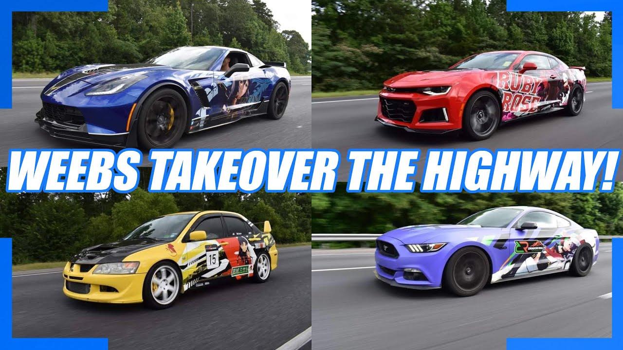 ITASHA CARS TAKEOVER THE HIGHWAY! 1,000 Mile Roadtrip to Texas!