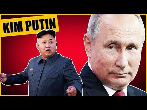 North Korea's Kim and Russia's Putin Meet, Called Authoritarian Axis?