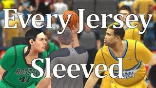 Every Uniform Sleeved in NBA 2K14