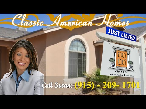 Classic American Homes El Paso Home For Sale In