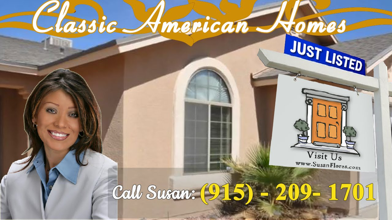 Classic american homes el paso home for sale in for Classic american homes el paso tx