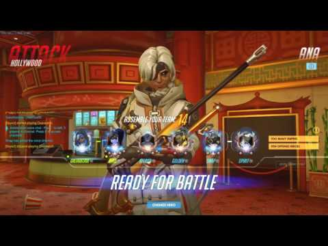 Overwatch Not A Pro Yet Gale RANK 1 NA