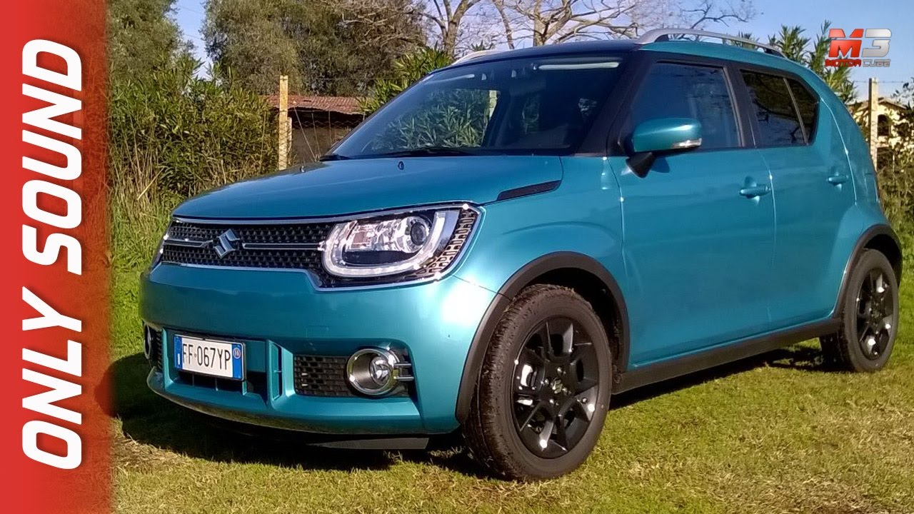 new suzuki ignis shvs allgrip hybrid 2017 first test drive off road only sound youtube. Black Bedroom Furniture Sets. Home Design Ideas