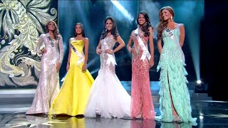 Miss Universe 2013 - TOP 5