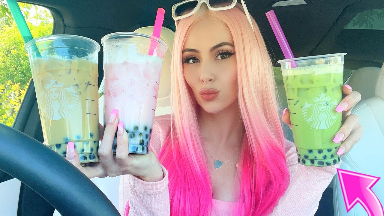Adding BOBA To My FAVORITE Starbucks Drinks...*TASTE TEST*