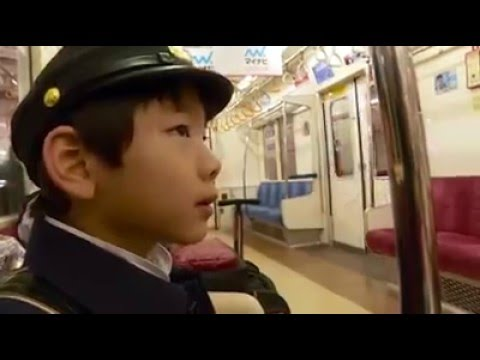 In Japan, 6 year olds travel solo to school on the train