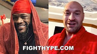 """DEONTAY WILDER & TYSON FURY TRADE WORDS OVER EXCUSES: """"COVID-19 LIE...BULLY EXCUSE MAKER"""""""